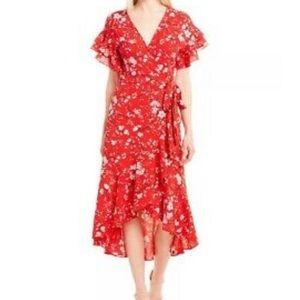 🆕 Max Studio Cherry Blossom Wrap Dress